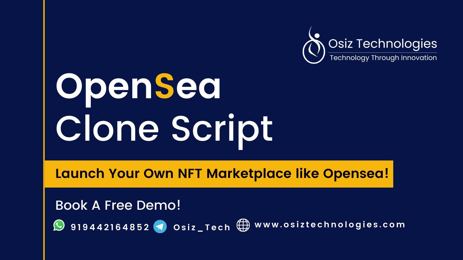 OpenSea  Clone Script