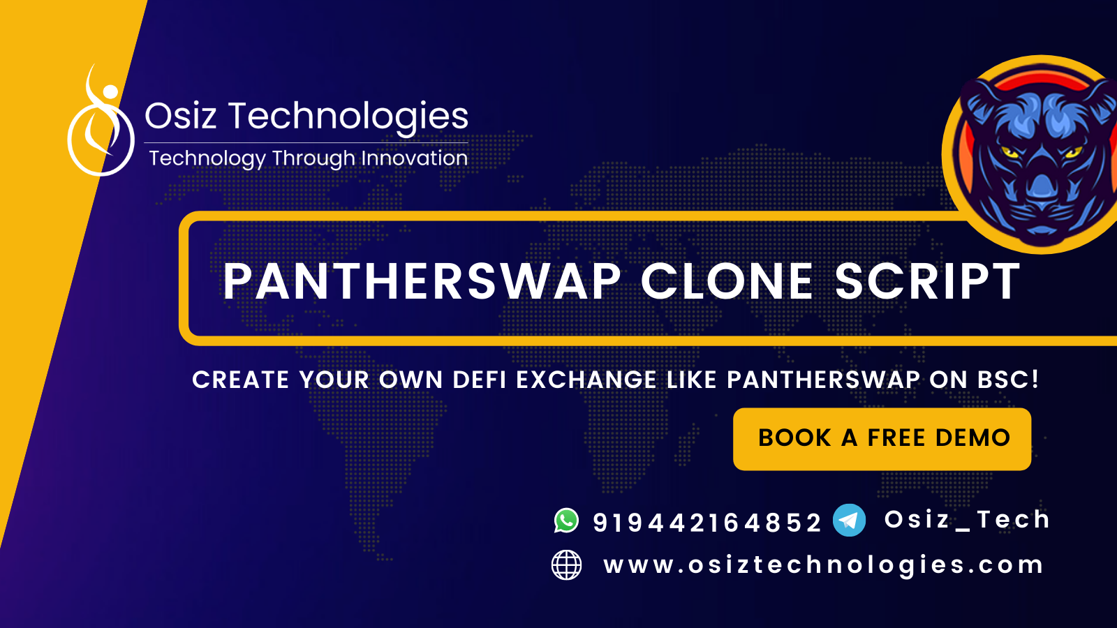 PantherSwap Clone Script - To Build DeFi based Decentralized Exchange like PantherSwap on Binance Smart Chain
