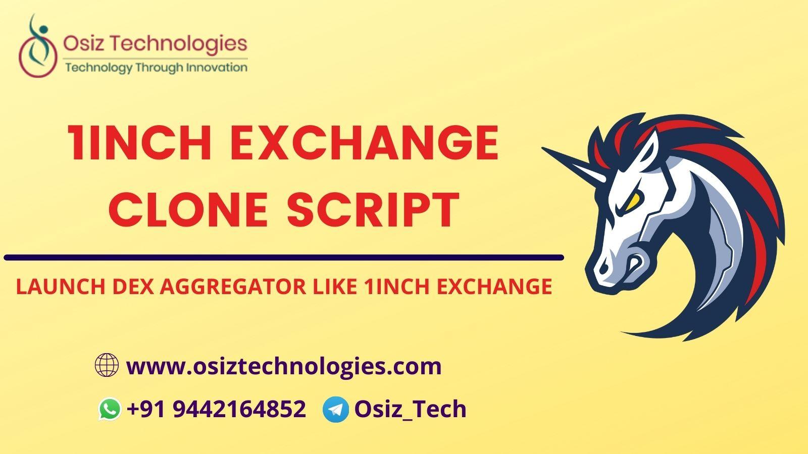 1inch Exchange clone script - Develop DeFi DEX Aggregator Like 1inch Exchange