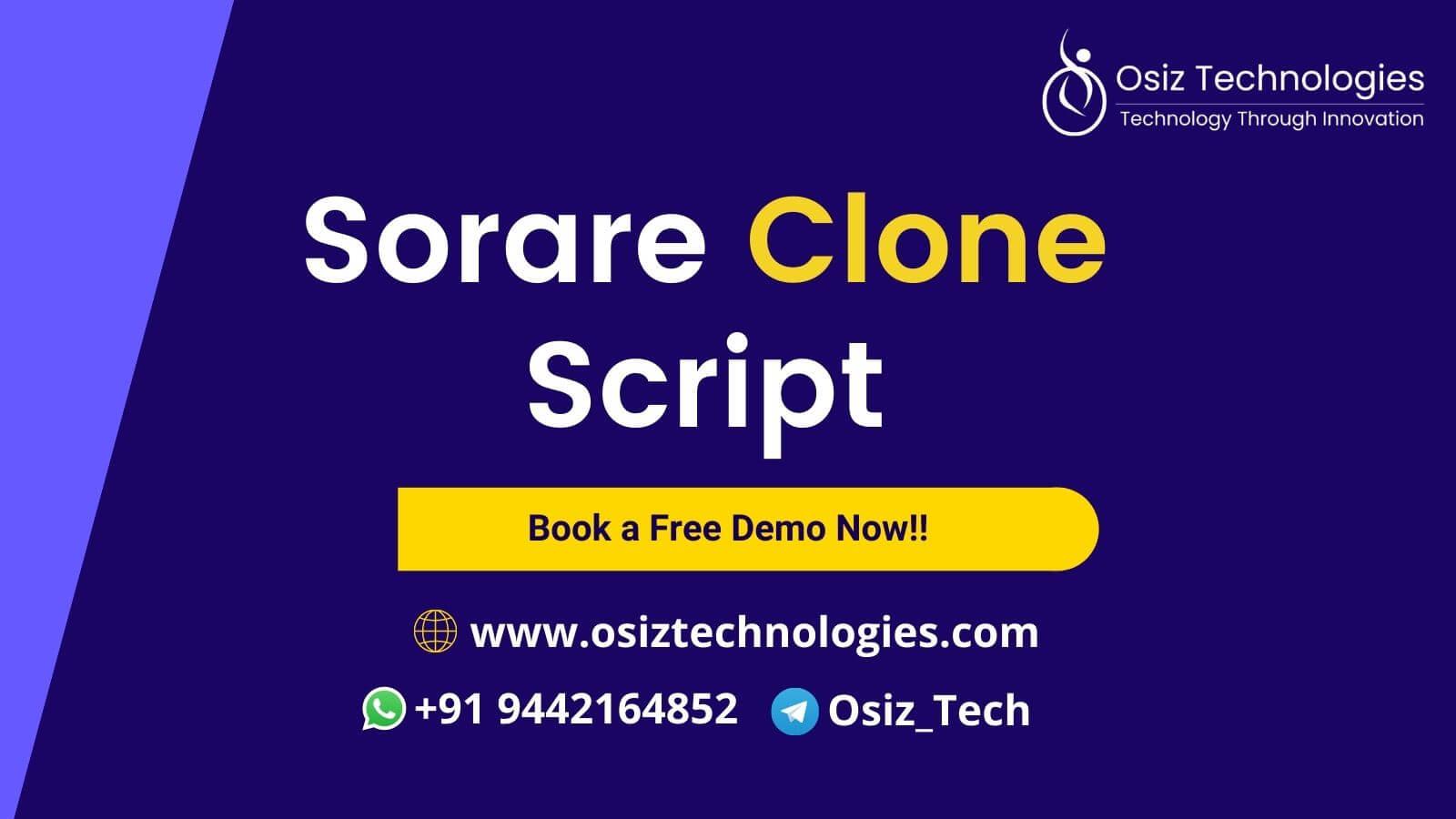 Sorare Clone Script - To Launch NFT MarketPlace for Football like Sorare