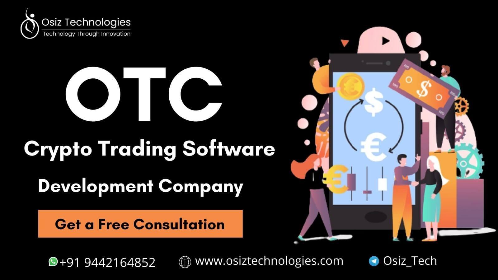 OTC Crypto Trading Software Development Company