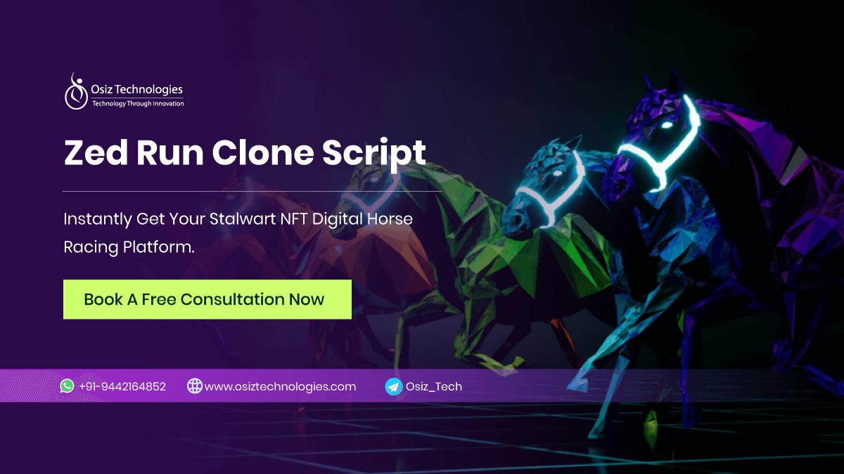 Zed Run Clone Script - To Build a NFT based Digital Horse Racing Game like Zed Run
