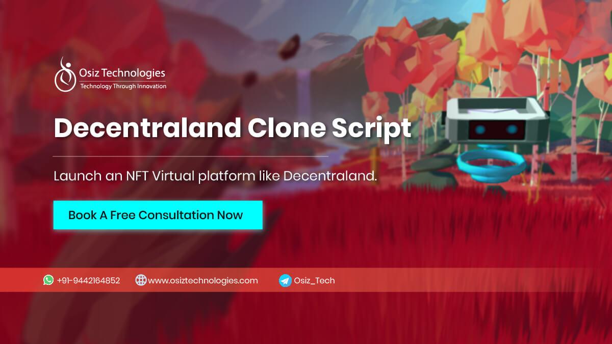 Decentraland Clone Script