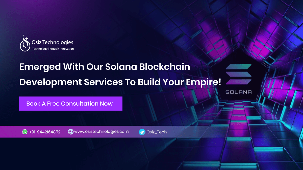 Solana Blockchain Development Services Company