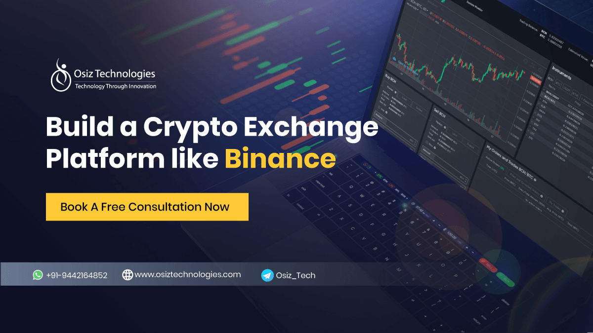 How to Build a Cryptocurrency Exchange like Binance?