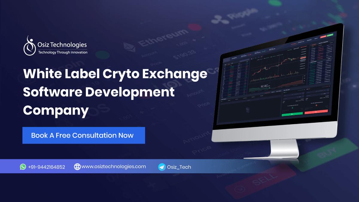 White Label Crypto Exchange Software Development Company