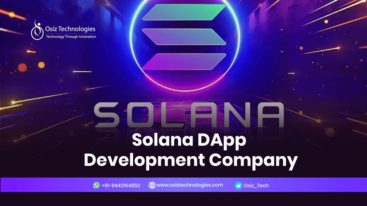 Solana DApp Development Company