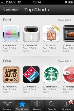 Coffee Cellar UK App Store