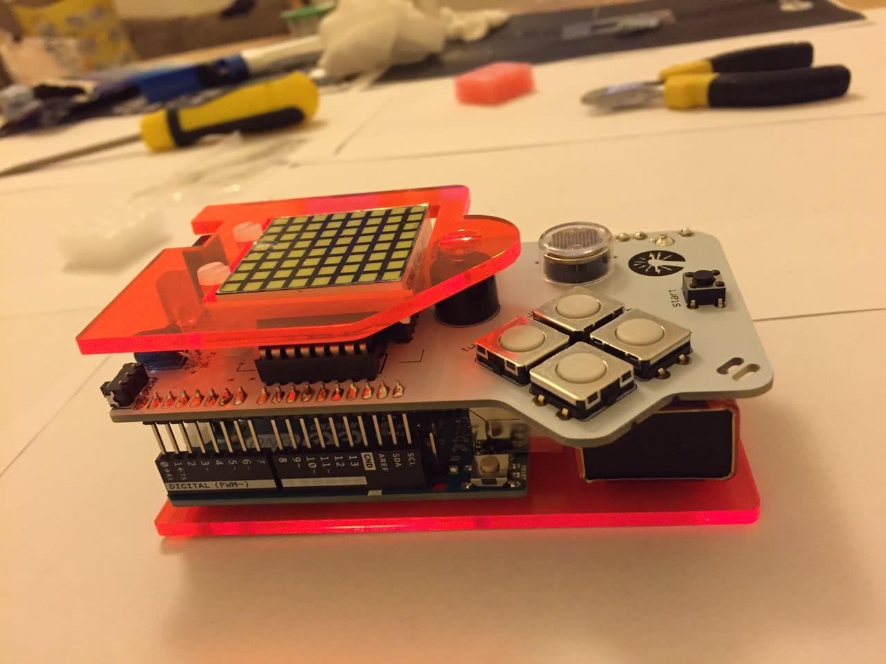 DIY Gamer Kit in plastic housing
