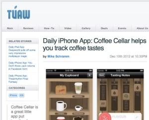 Coffee Cellar TUAW