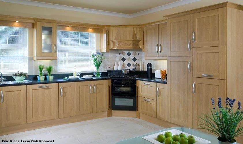 Five Piece Lissa Oak Roomset