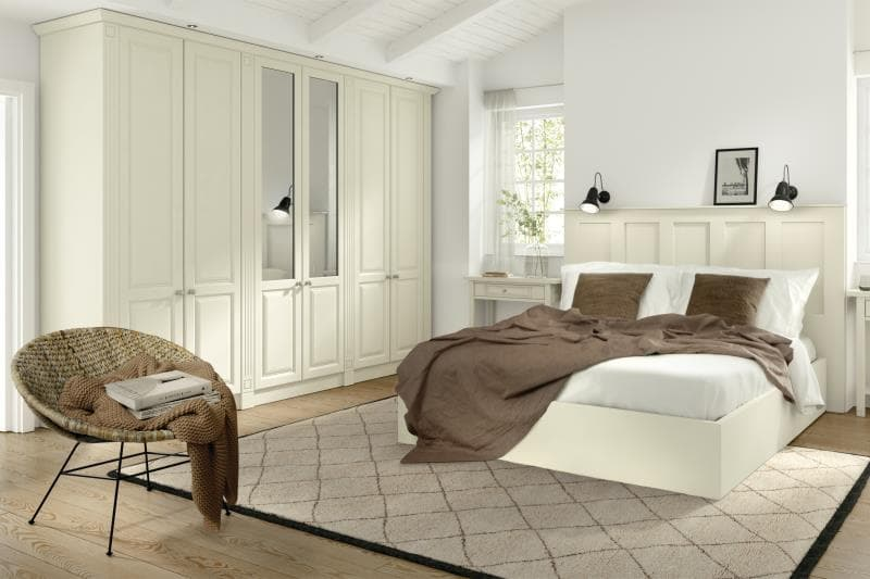 CGI Bedroom Calcutta Ivory
