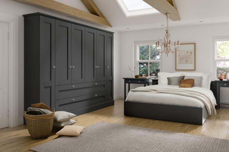 Lucca Legno Graphite1 Bedroom