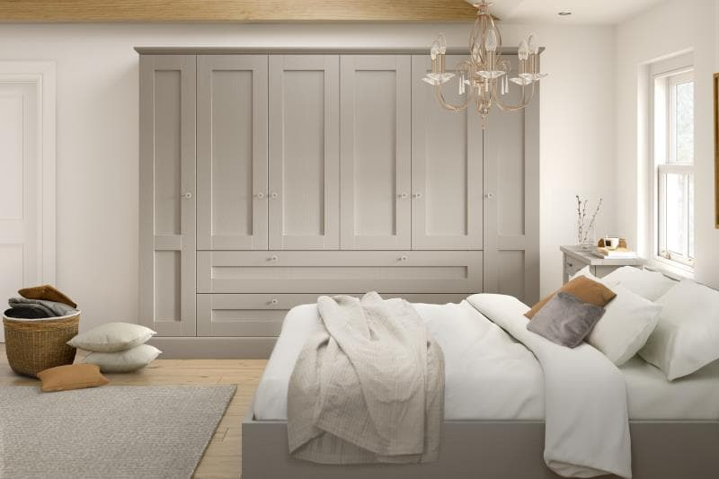 Lucca Legno Stone Grey Bedroom