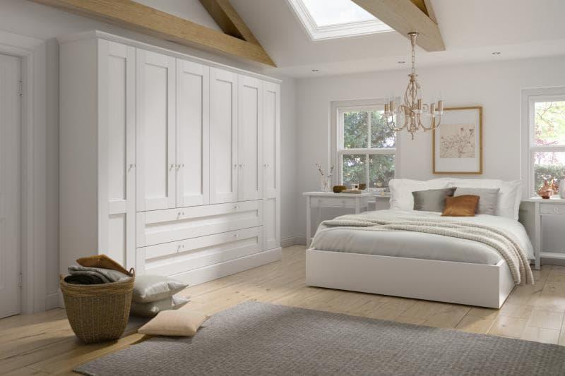 Lucca Legno White Bedroom