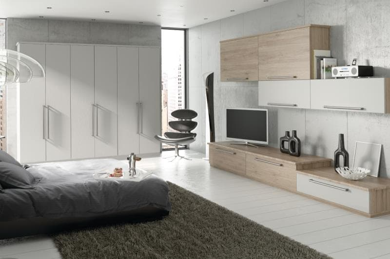 CGI Bedroom Galaxy Legno White-Terra