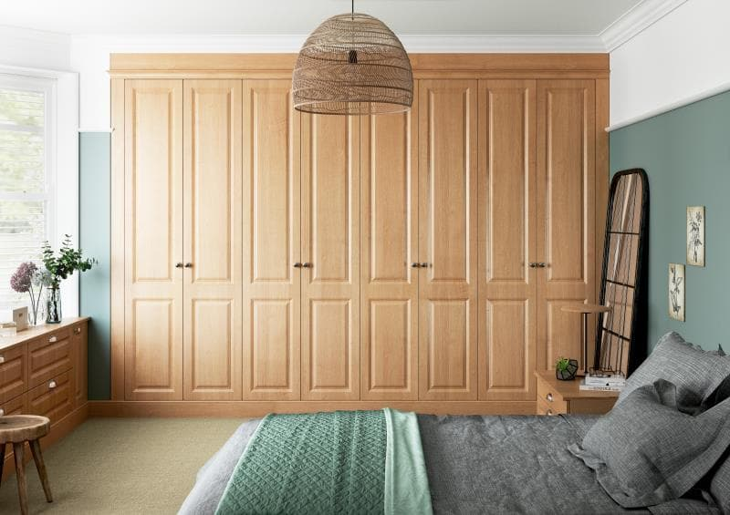 CGI Bedroom Miami Trojan Oak