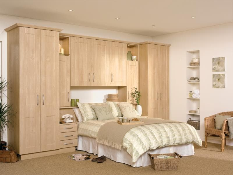 CGI Bedroom Ottowa Ontario Maple