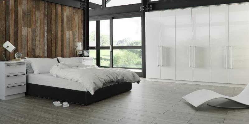 CGI Bedroom Phoenix Gloss White