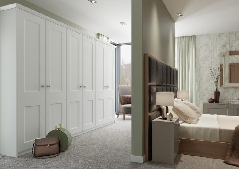 CGI Bedroom Windermere Horns White