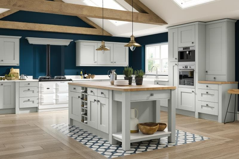 Lucca Legno Light Grey Kitchen