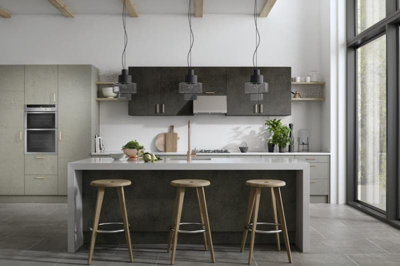 CGI Kitchen Galaxy Dark Concrete-Light Concrete