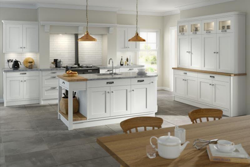 CGI Kitchen Hartford White