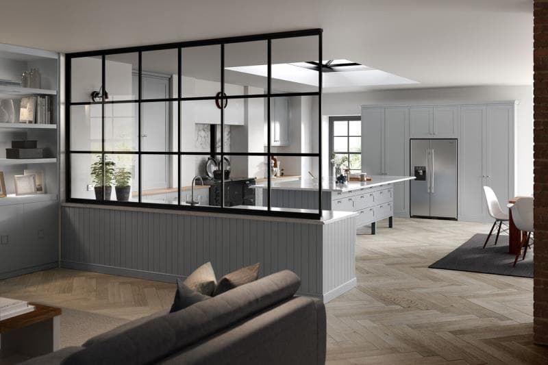 Loxley Light Grey Kitchen
