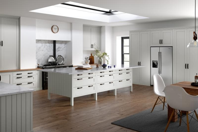 Loxley White Grey Kitchen