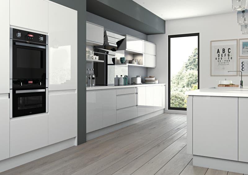 CGI Kitchen Luzzi Light Grey-White