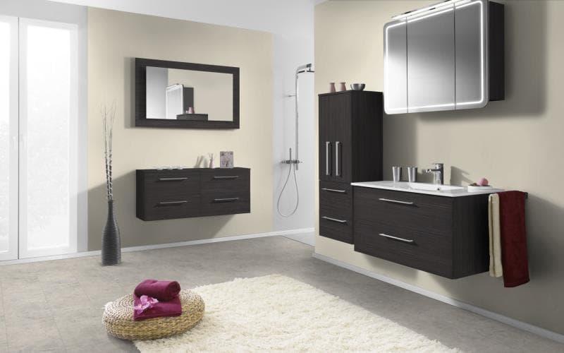 Economique Matt Hacienda Black Bathroom
