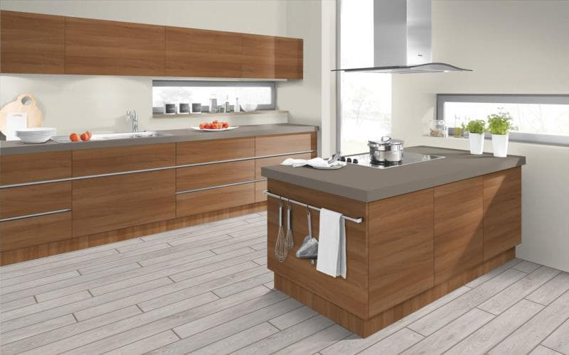 Economique Matt Natural Aida Walnut