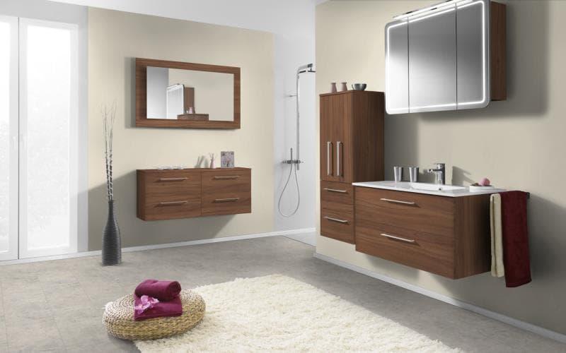 Economique Matt Natural Dijon Walnut Bathroom