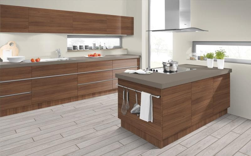 Economique Matt Natural Dijon Walnut