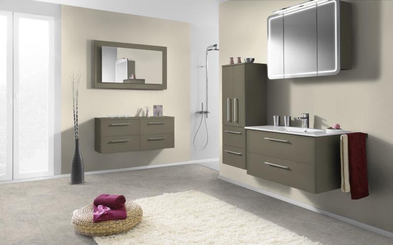 Economique Matt Olive Bathroom
