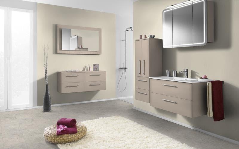 Economique Matt Sand Beige Bathroom