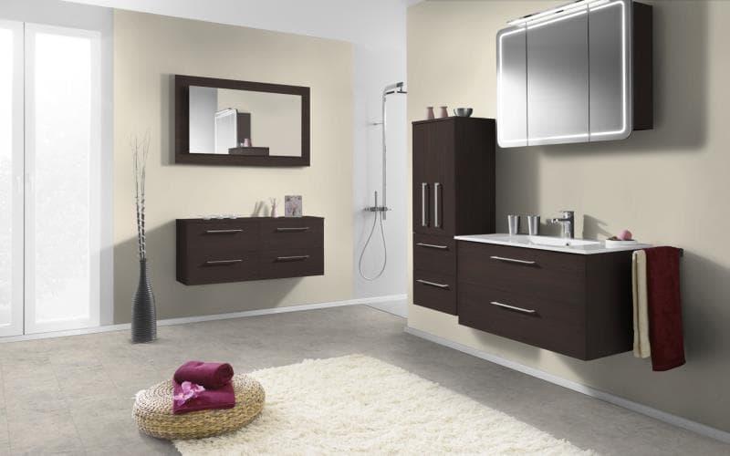 Economique Matt Truffle Brown Avola Bathroom