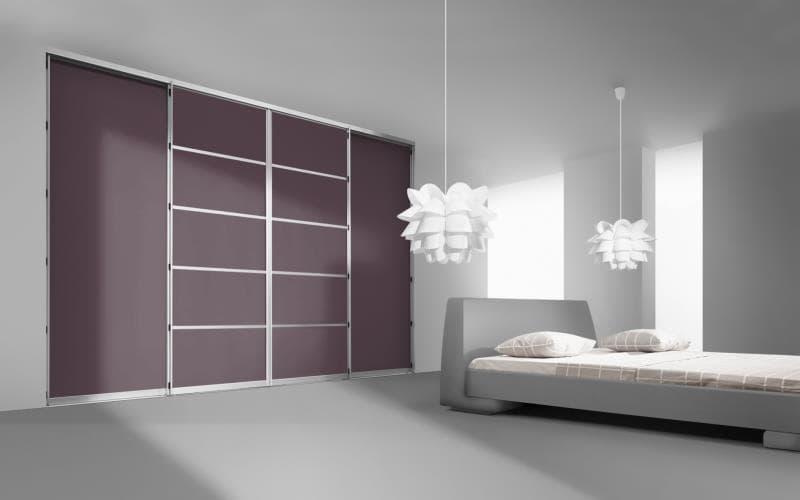 Sorrento Gloss Aubergine Bedroom