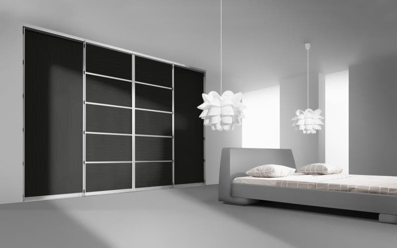Sorrento Gloss Black Bedroom