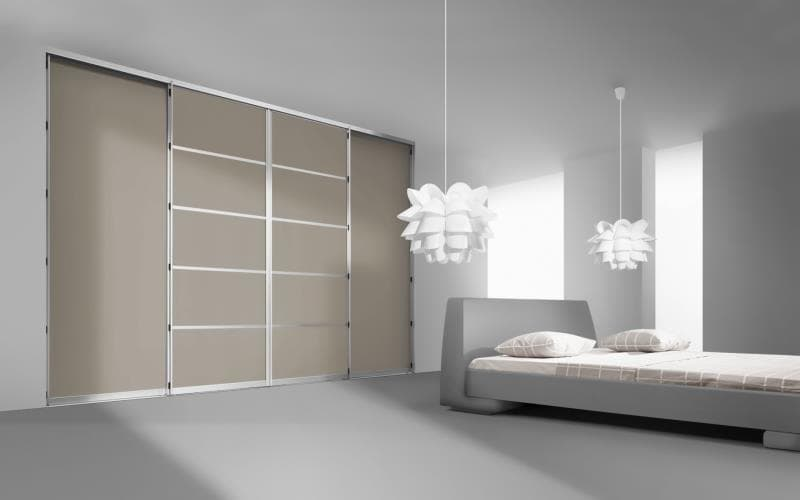 Sorrento Gloss Cashmere Bedroom