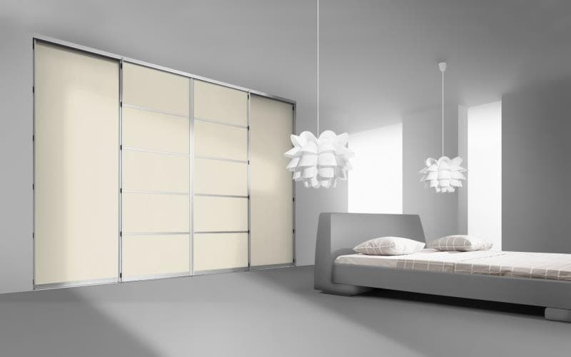 Sorrento Gloss Cream Bedroom