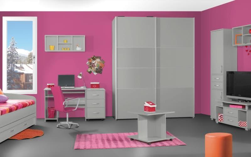 Treviso Handle-less Gloss Ebony Bedroom