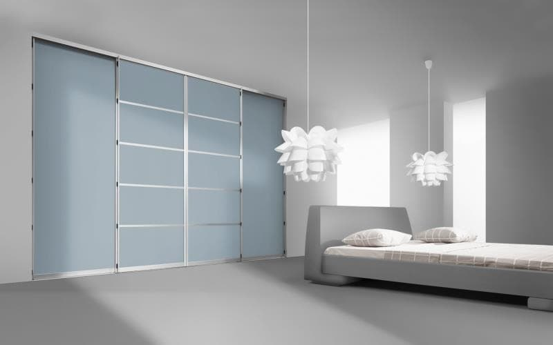 Sorrento Gloss Ice Blue Bedroom