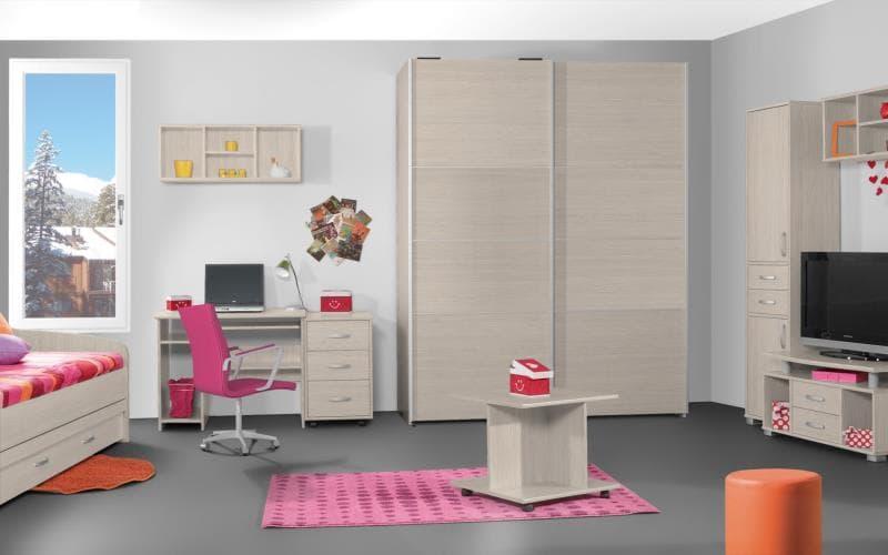 Treviso Handle-less Matt White Avola Bedroom