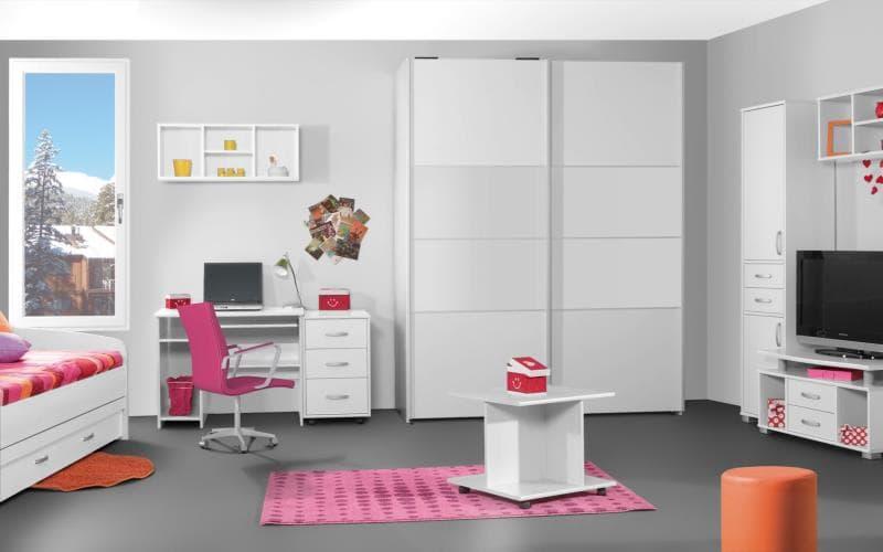 Treviso Handle-less Matt White Bedroom