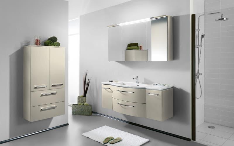 Saturn Gloss Alabaster Bathroom