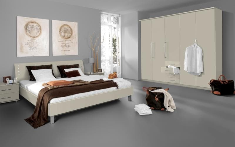Saturn Gloss Alabaster Bedroom