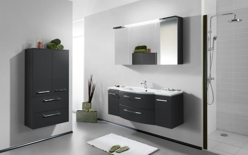 Saturn Gloss Anthracite  Bathroom