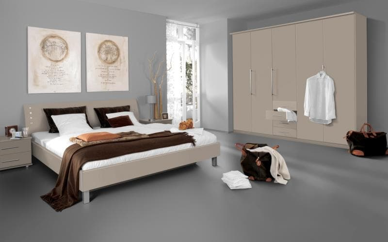 Saturn Gloss Beige Bedroom