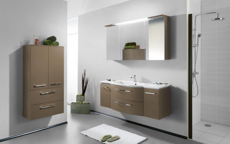 Saturn Gloss Cappucino Bathroom